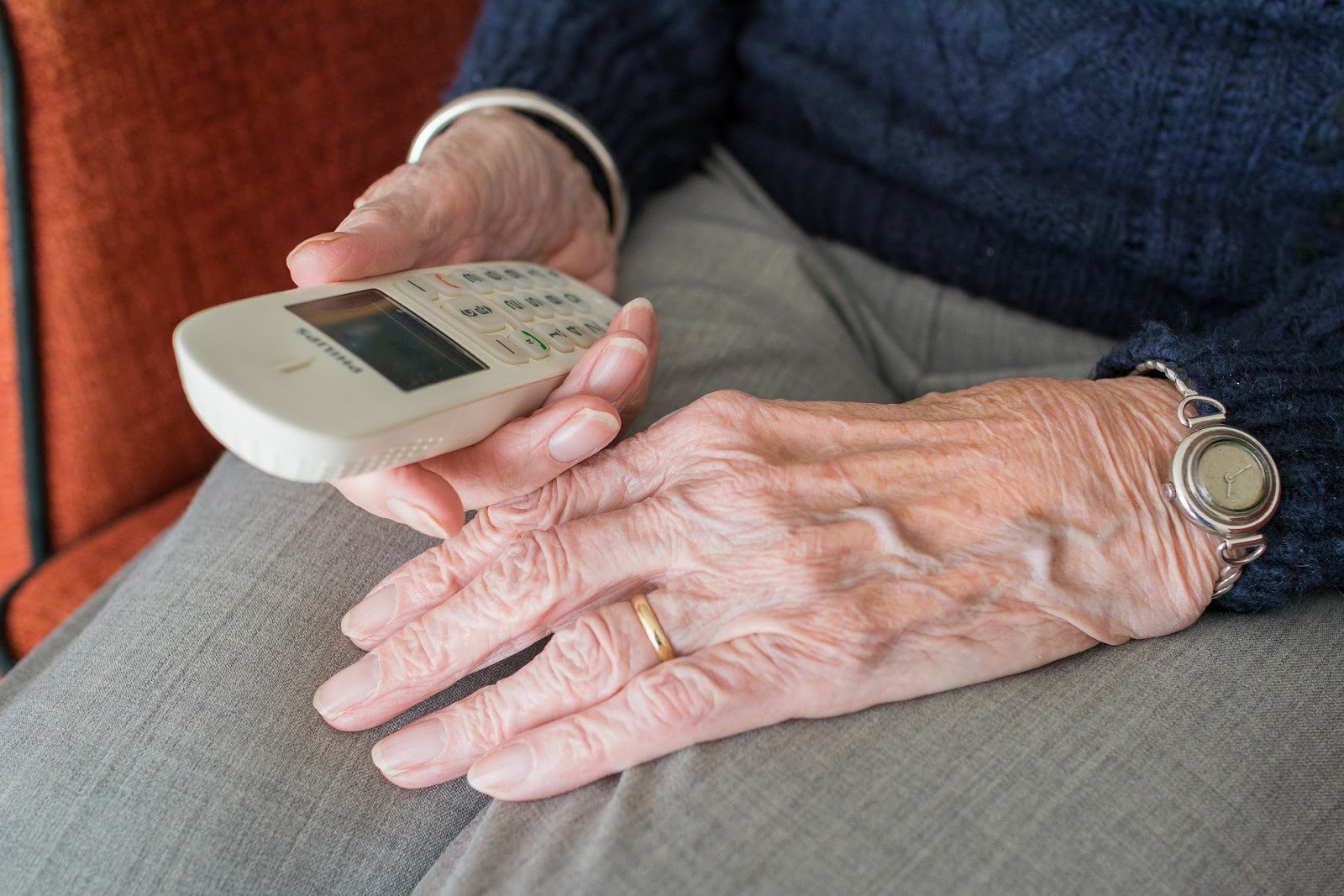 picture of man holding assisted medical device