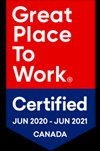 Integracare Great Places to Work Award 2020